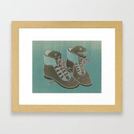 Moray Heels Framed Art Print