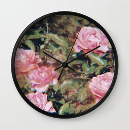 Rose Dreams Wall Clock