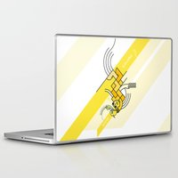 pixies Laptop & iPad Skins featuring Where is my mind? by Emilio Correa