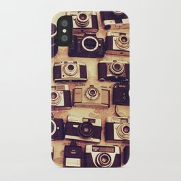 I love analogue photography iPhone Case