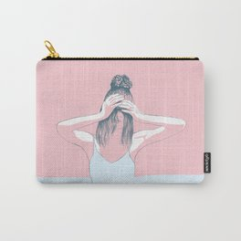 Winter Pink Carry-All Pouch