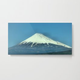 富士山 (Mt. Fuji) Japan Metal Print