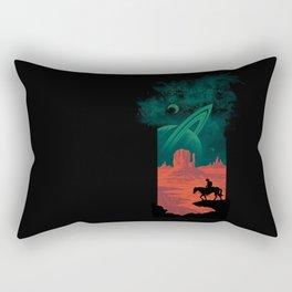 Final Frontiersman Rectangular Pillow