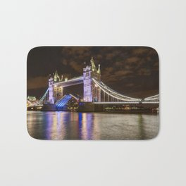 Tower Bridge, open for traffic. Bath Mat