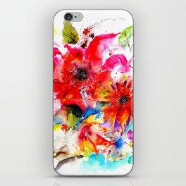 Watercolor garden II iPhone Skin