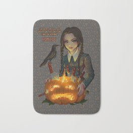 Wednesday Addams - Homicide Bath Mat