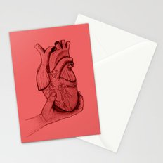 Hold your heart Stationery Cards