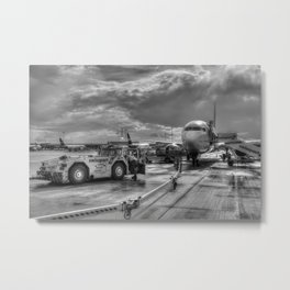 Pegasus Airlines Stanstead Airport Metal Print