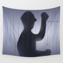 If you're Home Alone, showering... Wall Tapestry