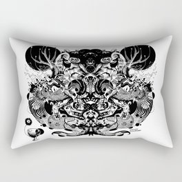 Scorn Pourer Rectangular Pillow