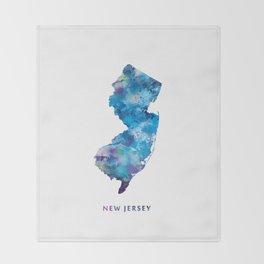 New Jersey Throw Blanket