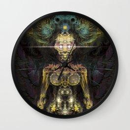 Fractal GOD - Angel Wall Clock