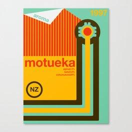 motueka single hop Canvas Print