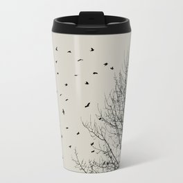 Come On Home - Graphic Birds Series, Plain - Modern Home Decor Travel Mug