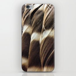Barred Owl Feathers iPhone Skin