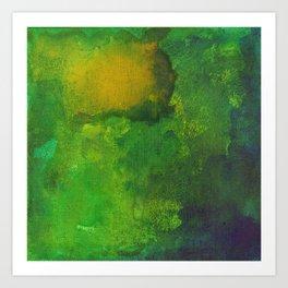 The Green House Art Print