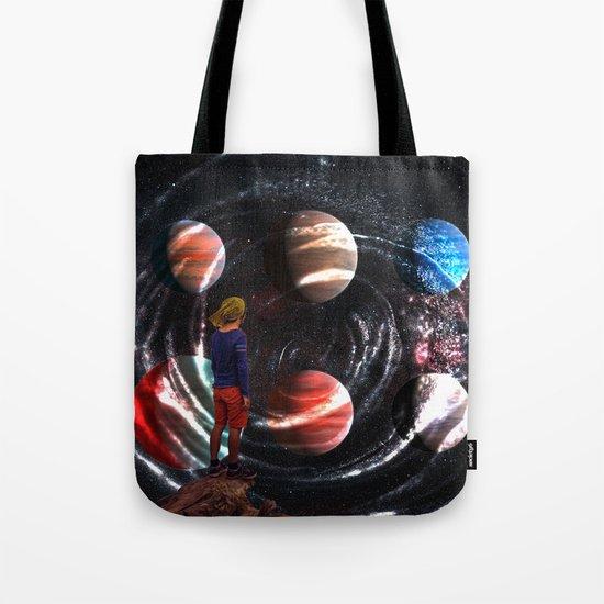 Planets Tote Bag
