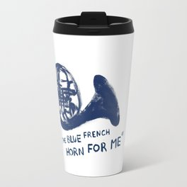 How I Met Your Mother - Blue French Horn Travel Mug