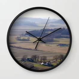 November Farm Wall Clock