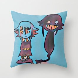 Everyone has their demons Throw Pillow