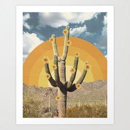 Flower of Desert Art Print