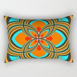 Spiral Rose Pattern B 2/4 Rectangular Pillow