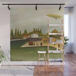 Henri Rousseau - Quai d'Ivry Wall Mural