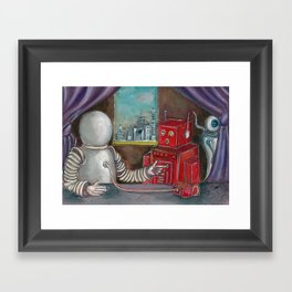 Robo Relations Framed Art Print