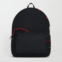 Stars on a Red Rope (Color) Backpack