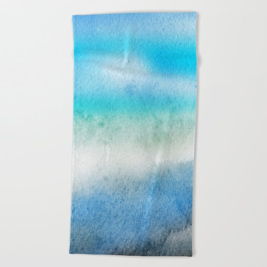 Tropical sea #7 Beach Towel