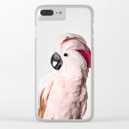 Pink Cockatoo Clear iPhone Case