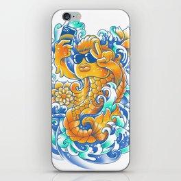 Selfie-ish Fishtail-ish iPhone Skin