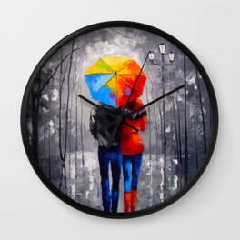 Bright walk Wall Clock