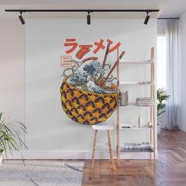 Great vibes ramen Wall Mural