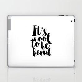 Be kind Be Brave Kids Gift Nursery Print Nursery Wall Art Children Print Typography Print Laptop & iPad Skin