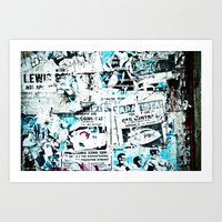 posters Art Prints featuring posters by Renee Ansell