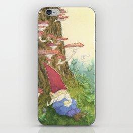 The Sleeping Gnome iPhone Skin
