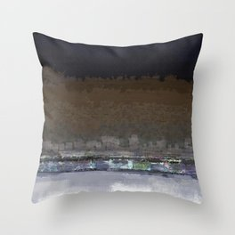 free scape night Throw Pillow