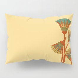Ancient Egyptian lotus - Colorful Pillow Sham