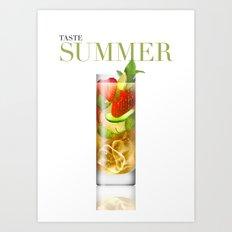 Taste Summer Art Print