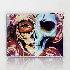 SkullFace Inverted Laptop & iPad Skin