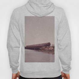 NEW YORK SUBWAY IS ABOVE GROUND WHEN IT CROSSES JAMAICA BAY AREA Hoody
