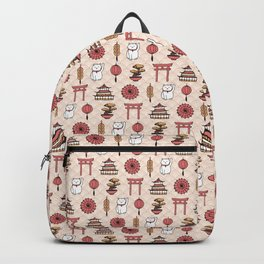 Japanese pattern Backpack