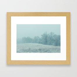 Union Winter 2 Framed Art Print