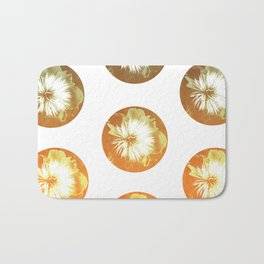 rusty circles Bath Mat