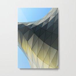 Imaginary Places VII Architectural Design Metal Print