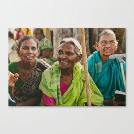 Village Women Canvas Print