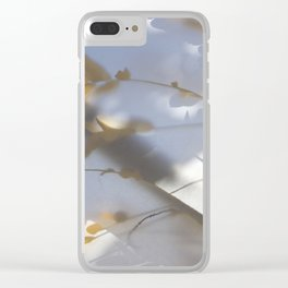 Veiled Nature 8 Clear iPhone Case