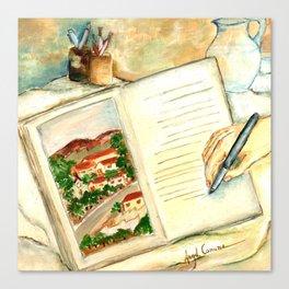 Stories (Histórias) Canvas Print