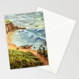 Strumble Head, Pembrokeshire Stationery Cards